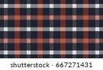 tartan plaid  pattern vector... | Shutterstock .eps vector #667271431