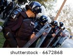 Special Police Forces Cordon A...