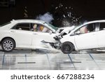 Front End Collision During A...