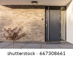 Minimalist Clean Red Brick Hom...