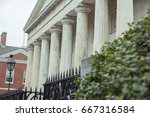 second bank of the us | Shutterstock . vector #667316584