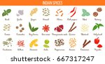 big vector set of popular...   Shutterstock .eps vector #667317247