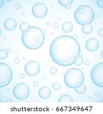 Blue Bubbles Background ...