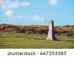 Michel Dene Obelisk Near The...