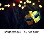 carnival mask | Shutterstock . vector #667355884