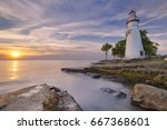 The Marblehead Lighthouse On...