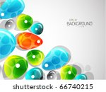 colorful abstract background | Shutterstock .eps vector #66740215