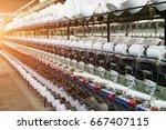 textile industry  | Shutterstock . vector #667407115