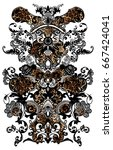 Leopard Pattern. Animal Print.