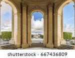 view through main basin... | Shutterstock . vector #667436809