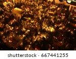 san andr s mixquic  mexico  ... | Shutterstock . vector #667441255