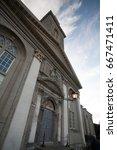 Stock photo royal hospital kilmainham in dublin city ireland 667471411