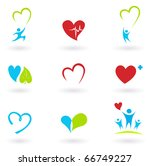 health and medical  cardiology  ... | Shutterstock .eps vector #66749227