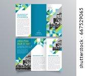 brochure design  brochure... | Shutterstock .eps vector #667529065