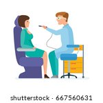 modern medicine and health care ... | Shutterstock .eps vector #667560631