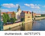 Czech Republic. View Of Prague...