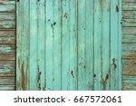 background of wooden planks... | Shutterstock . vector #667572061