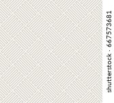 vector seamless pattern. modern ... | Shutterstock .eps vector #667573681