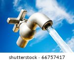 A Magical Water Faucet In The...