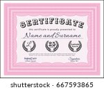 pink diploma. sophisticated...