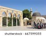 jerusalem  israel   june 15 ... | Shutterstock . vector #667599355
