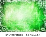 green christmas grunge texture... | Shutterstock . vector #66761164