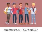 student character vector design | Shutterstock .eps vector #667620367