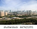 Shenzhen view in China