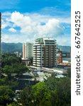 guatemala city   june 12  2017. ... | Shutterstock . vector #667642525