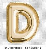 brilliant letter alphabet d... | Shutterstock . vector #667665841