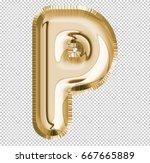 brilliant letter alphabet p... | Shutterstock . vector #667665889