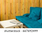 workplace. working space.... | Shutterstock . vector #667692499