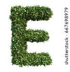 3d rendering of vertical garden ... | Shutterstock . vector #667698979
