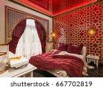 3d illustration  interior... | Shutterstock . vector #667702819