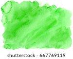 abstract watercolor hand... | Shutterstock . vector #667769119