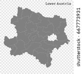 high quality map of lower... | Shutterstock .eps vector #667773931
