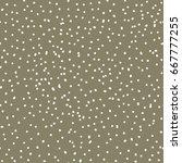 seamless polka dot pattern. | Shutterstock .eps vector #667777255