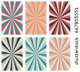vector set of vintage...   Shutterstock .eps vector #667805551