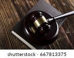 criminal justice. law symbols.
