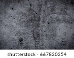 abstract dark grunge concrete... | Shutterstock . vector #667820254