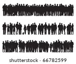 group of people | Shutterstock .eps vector #66782599