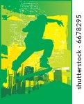 skate green | Shutterstock . vector #6678295