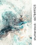 abstract painting soft color... | Shutterstock . vector #667849525