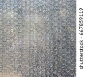 Small photo of Bubble Wrap Packing Or Air Cushion Film, Shockproof background