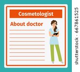 medical professional notes... | Shutterstock .eps vector #667861525