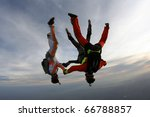 skydiving photo | Shutterstock . vector #66788857