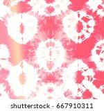 abstract tie dyed pattern of... | Shutterstock . vector #667910311