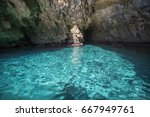 Amazing Blue Waters Of The...
