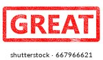grunge rubber stamp with text... | Shutterstock . vector #667966621