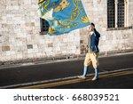 pisa italy   june 2017    ...   Shutterstock . vector #668039521